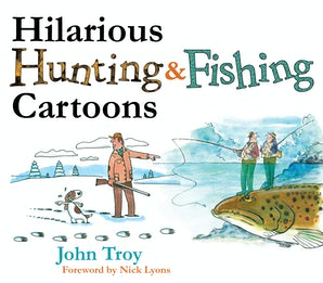Hilarious Hunting & Fishing Cartoons book image