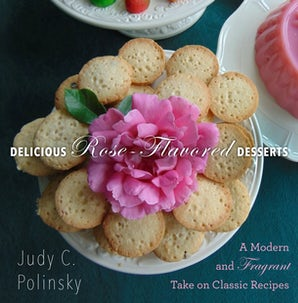 Delicious Rose-Flavored Desserts book image