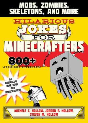 Hilarious Jokes for Minecrafters book image