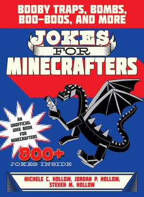 Jokes for Minecrafters book image