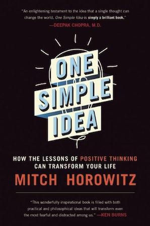 One Simple Idea book image