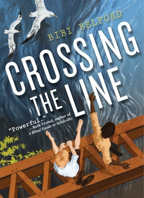 Crossing the Line book image