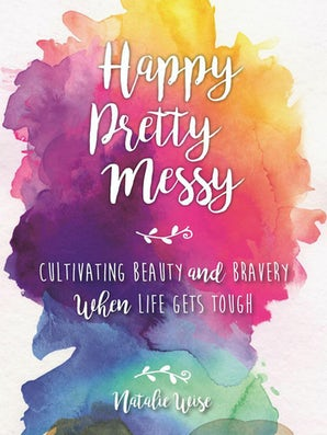 Happy Pretty Messy book image