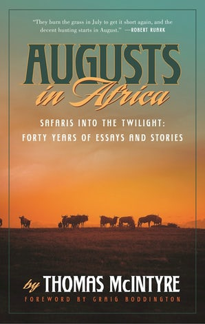 Augusts in Africa book image