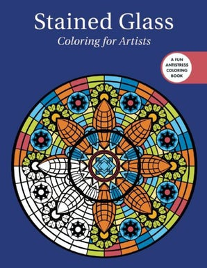 Stained Glass: Coloring for Artists book image