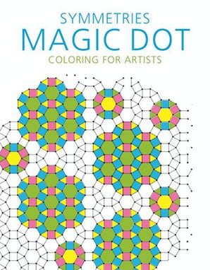 Symmetries: Magic Dot Coloring for Artists book image