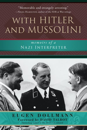 With Hitler and Mussolini book image