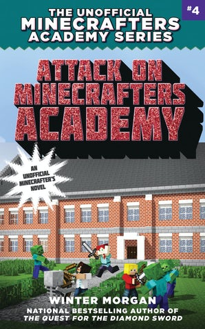 Attack on Minecrafters Academy book image