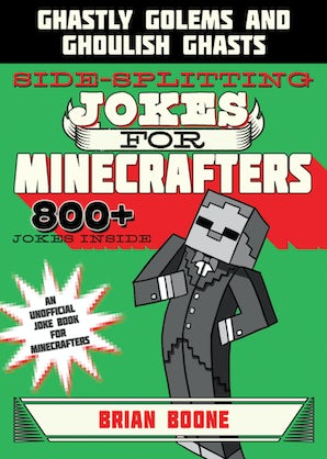 Sidesplitting Jokes for Minecrafters book image