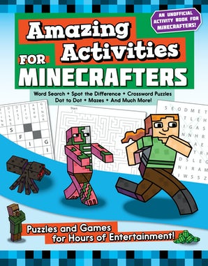 Amazing Activities for Minecrafters book image