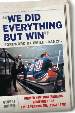We Did Everything But Win book image