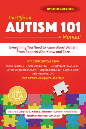 The Official Autism 101 Manual book image