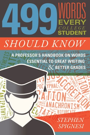 499 Words Every College Student Should Know book image