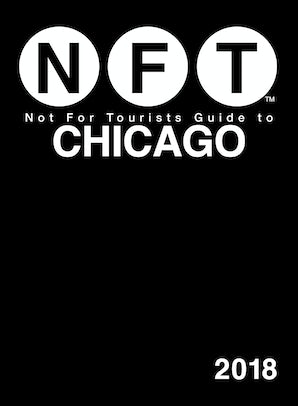 Not For Tourists Guide to Chicago 2018 book image