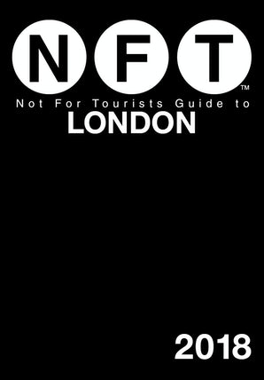 Not For Tourists Guide to London 2018 book image