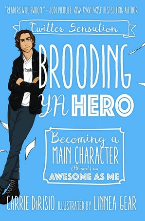 Brooding YA Hero book image