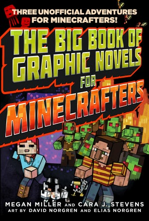 The Big Book of Graphic Novels for Minecrafters book image