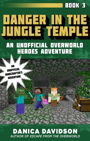 Danger in the Jungle Temple book image