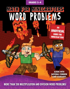 Math for Minecrafters Word Problems: Grades 3-4 book image
