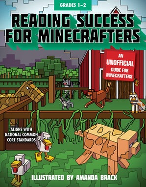 Reading Success for Minecrafters: Grades 1-2 book image