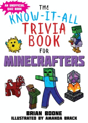 Know-It-All Trivia Book for Minecrafters book image