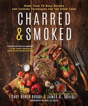 Charred & Smoked book image