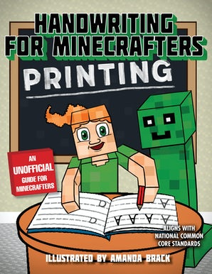 Handwriting for Minecrafters: Printing book image