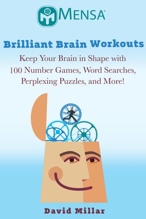 Mensa's® Brilliant Brain Workouts book image