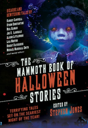 The Mammoth Book of Halloween Stories book image