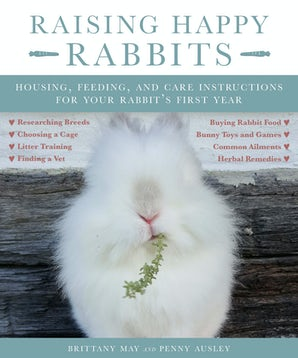 Raising Happy Rabbits book image