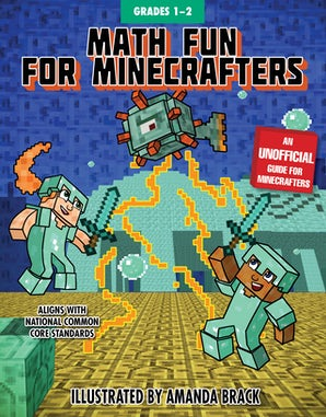 Math Fun for Minecrafters: Grades 1–2 book image