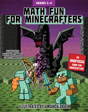 Math Fun for Minecrafters: Grades 3–4 book image