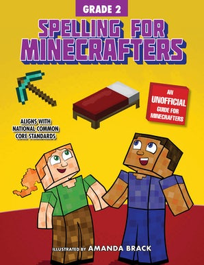 Spelling for Minecrafters: Grade 2 book image