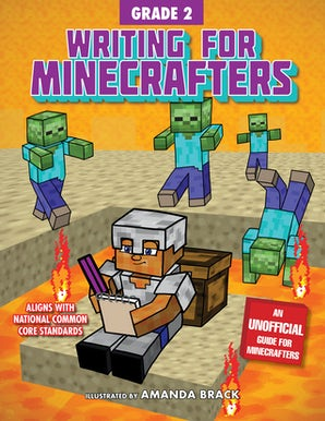 Writing for Minecrafters: Grade 2 book image