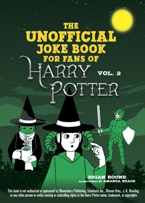 The Unofficial Harry Potter Joke Book: Stupefying Shenanigans for Slytherin book image
