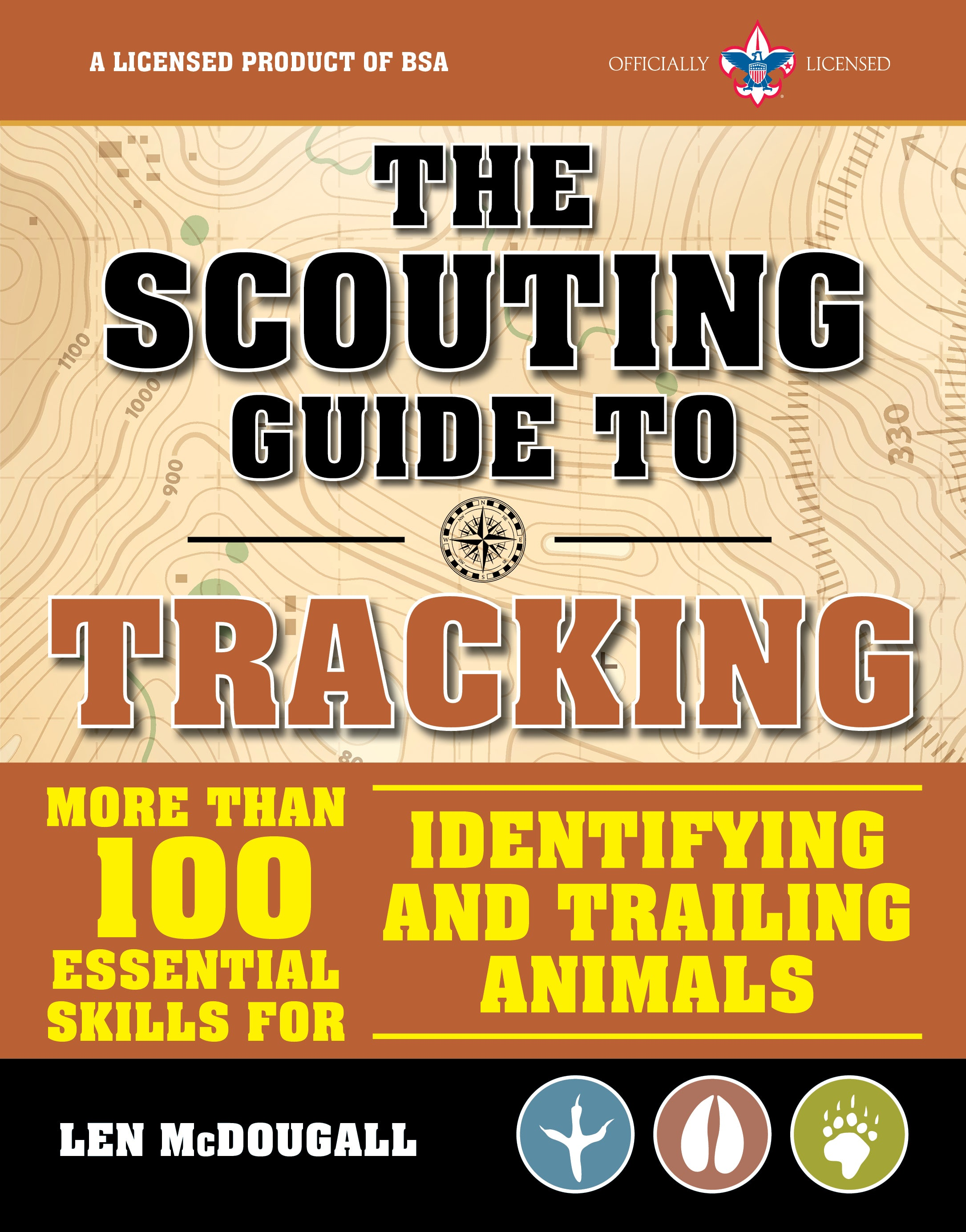 The trackers handbook : how to identify and trail any animal, anywhere
