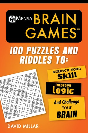 Mensa® Brain Games book image