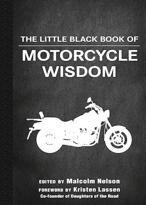 The Little Black Book of Motorcycle Wisdom book image