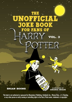 The Unofficial Harry Potter Joke Book: Howling Hilarity for Hufflepuff book image