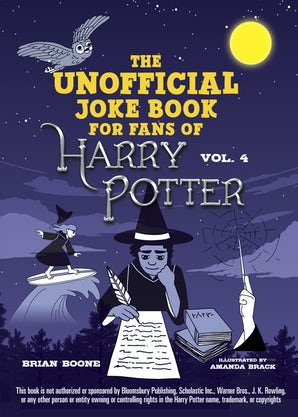 The Unofficial Harry Potter Joke Book: Raucous Jokes and Riddikulus Riddles for Ravenclaw book image