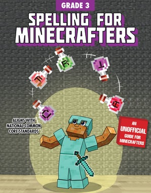 Spelling for Minecrafters: Grade 3 book image