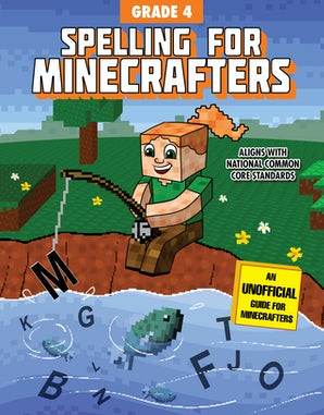 Spelling for Minecrafters: Grade 4 book image