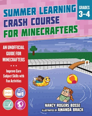 Summer Crash Course Learning for Minecrafters: From Grades 3 to 4 book image