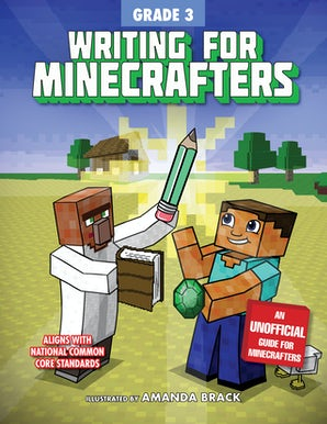 Writing for Minecrafters: Grade 3 book image