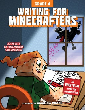 Writing for Minecrafters: Grade 4 book image