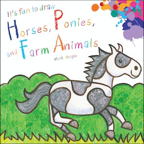 It's Fun To Draw Horses, Ponies, and Farm Animals book image