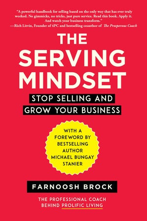 The Serving Mindset book image