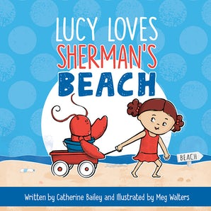 Lucy Loves Sherman's Beach book image
