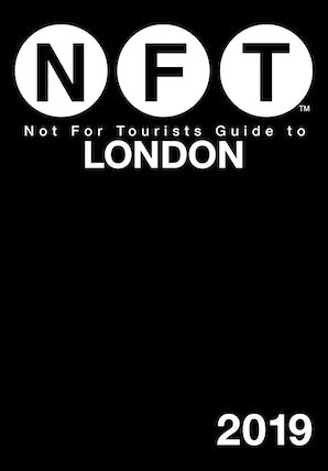 Not For Tourists Guide to London 2019 book image