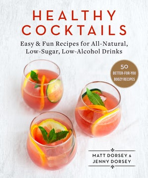 Healthy Cocktails book image